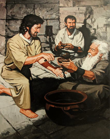 Joseph, A Man of Faith Rest Illustration